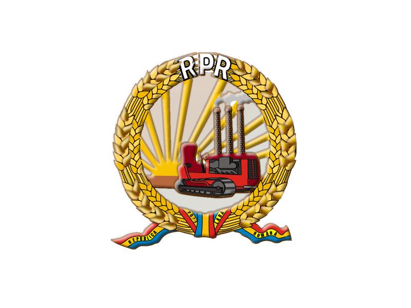 Constitutia Romaniei 1948 - Stema Romaniei 1948