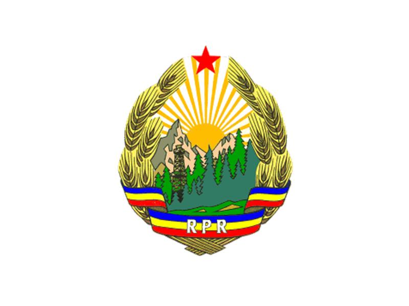 Constitutia Romaniei 1965 - Stema Romaniei 1965